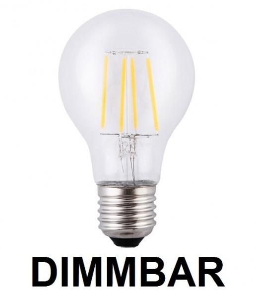 4 Watt Faden / Filament LED Lampe / Birne, E27, Warmweiß 2700 K ...