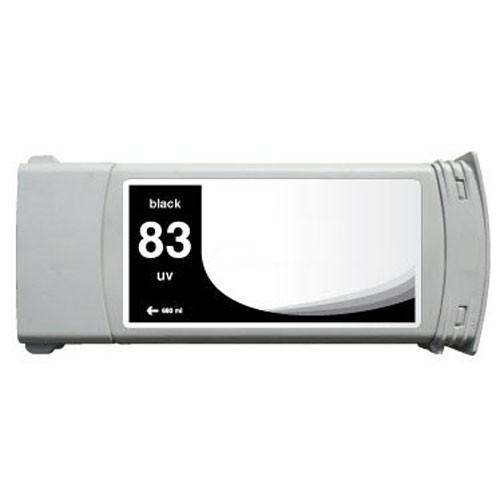 Refill Druckerpatrone HP 83 schwarz, black - UV C4940A