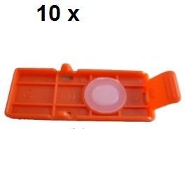 10 x Transport Clip für Canon PGI-550, PGI-570, PGI-580
