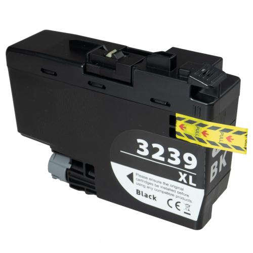 XL Druckerpatrone wie Brother LC-3237 BK, LC-3239 XL-BK Black, Schwarz