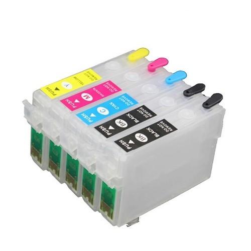 Wiederbefüllbare QUICKFILL-FILL-IN Patronen für Epson D120 mit Auto Reset Chips