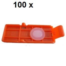 100 x Transport Clip für Canon PGI-550, PGI-570, PGI-580