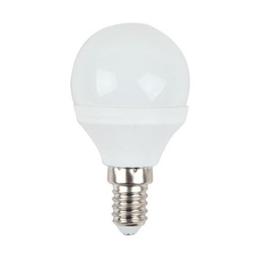 4 Watt LED Lampe, Weiß, E14, Lichtfarbe warmweiß 2700 K