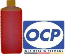 1 Liter OCP Tinte Y305 yellow für Brother LC-970, 980, 1000, 1100, 1220, 1240, 1280, 121, 123, 125