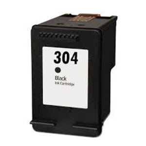Refill Druckerpatrone HP 304 XL schwarz, black - N9K08AE, N9K06AE