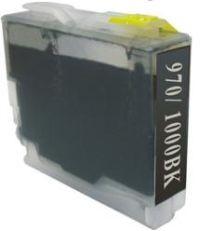 Druckerpatrone wie Brother LC-970 BK, LC-1000 BK Black, Schwarz XL