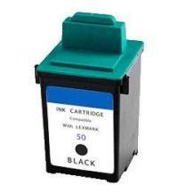 Refill Druckerpatrone Lexmark 50 schwarz, black - 17G0050