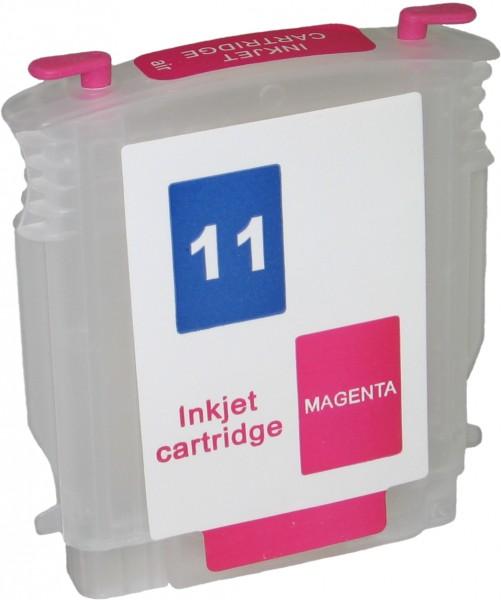 Wiederbefüllbare Quickfill Fill-In Patrone HP 11 magenta mit Auto Reset Chip