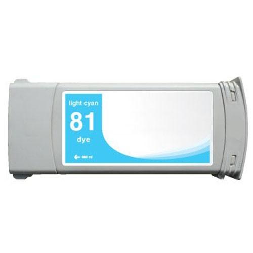 Refill Druckerpatrone HP 81 light-cyan C4935A