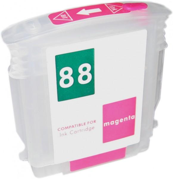 Wiederbefüllbare Quickfill Fill-In Patrone HP 88 magenta mit Auto Reset Chip