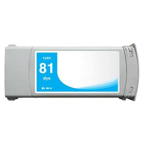 Refill Druckerpatrone HP 81 cyan C4931A