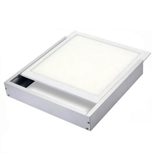 Aufputz Einbaurahmen Weiss für LED Panel 62 x 62 cm
