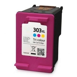 Refill Druckerpatrone HP 303 XL color, dreifarbig - T6N01AE, T6N03AE