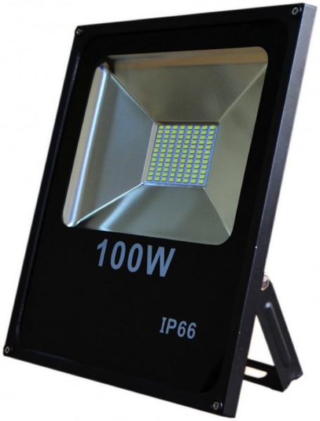 100 Watt LED Außenstrahler - Flutlicht - entspricht 750 Watt Halogenstrahler
