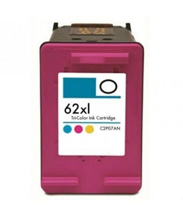 Refill Druckerpatrone HP 62 XL color, dreifarbig - C2P07AE, C2P06AE