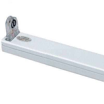 LED Röhrenhalterung mit Fassungen für eine 150 cm LED-Röhre T8 - G13