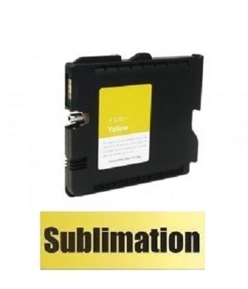 Druckerpatrone wie Ricoh GC 41 XL yellow, 405764, 405768 mit SUBLIMATIONSTINTE