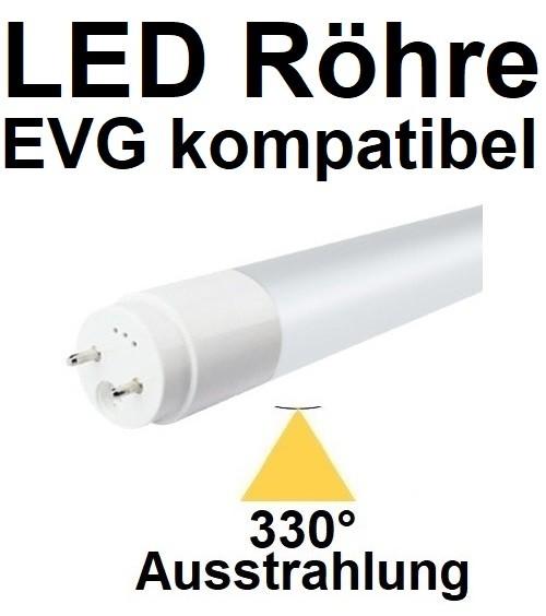 Mit TÜV, für EVG - 150 cm LED-Röhre T8 - G13, 29 Watt, 330° Ausstrahlung, Tageslichtweiß 6000K