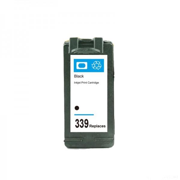 Refill Druckerpatrone HP 339 XL schwarz, black - C8767EE