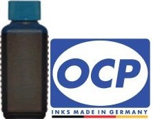 100 ml OCP Tinte C512 cyan für Brother LC-221, LC-223, LC-225