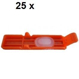 25 x Transport Clip für Canon CLI-551, CLI-571, CLI-581 - alle Farben