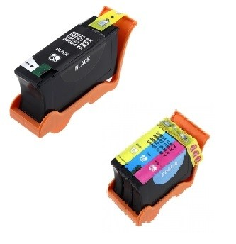 Druckerpatronen Set wie Dell 21 black & color