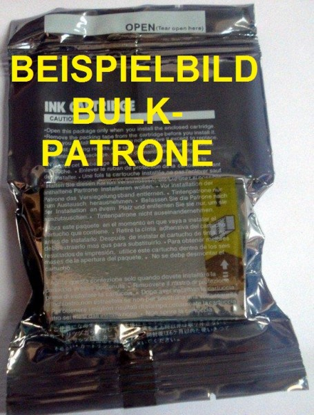 Bulk Druckerpatrone wie Brother LC-980Y, LC-1100HY-Y yellow